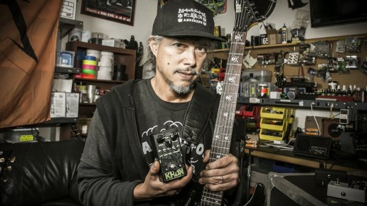 The Birth of Ghoul Screamer, Kirk Hammett's Signature Overdrive