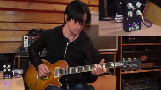 Hear Pete Thorn Plus on KHDK's No.1 Overdrive