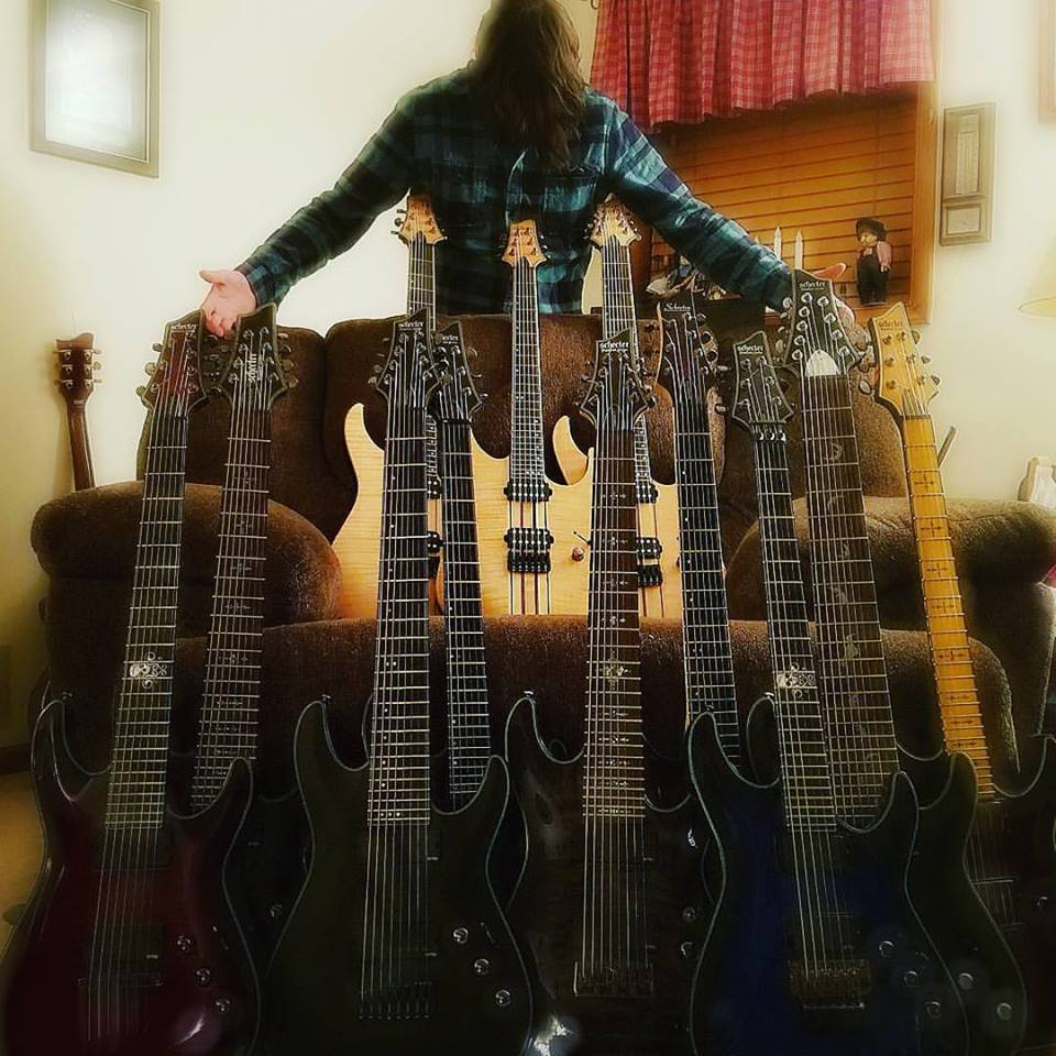 Kris Norris guitars